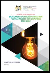 Document de Programmation Budgétaire et Economique Pluriannuelle (DPBEP)  2020-2022 (Version Citoyenne)