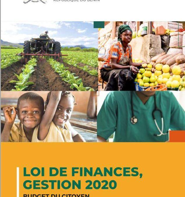 VERSION CITOYENNE DE LA LOI DE FINANCES POUR LA GESTION 2020