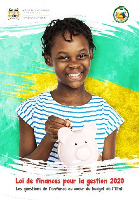 Les questions de l'enfance au coeur du budget de l'Etat, gestion 2020