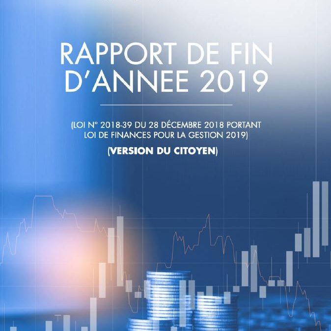 Version citoyenne du Rapport de Fin d'année 2019