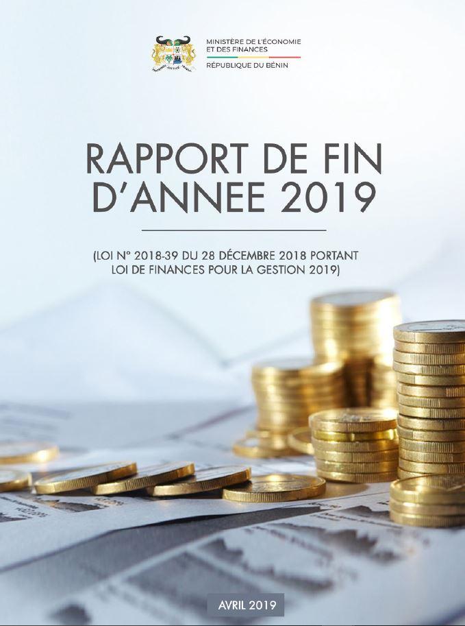 Rapport de Fin d'année 2019