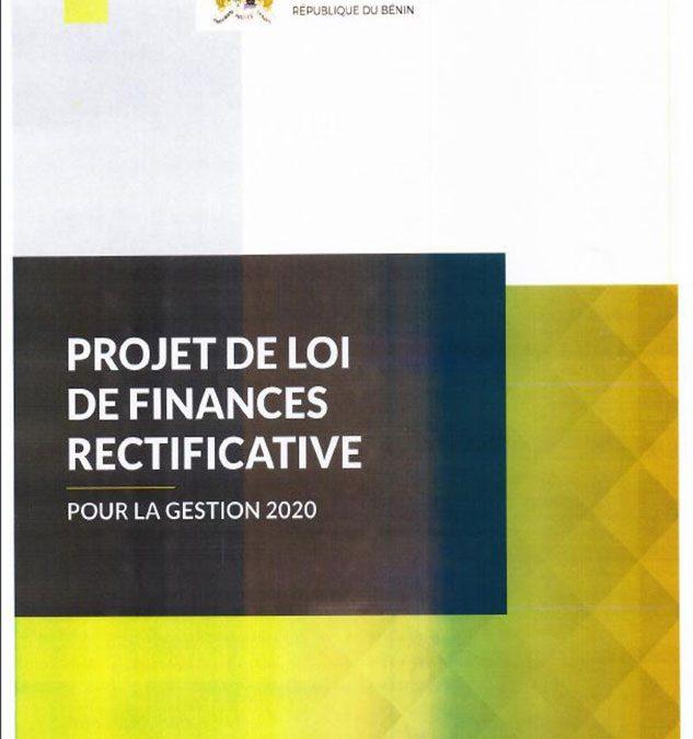 Projet de loi de finances rectificative, gestion 2020