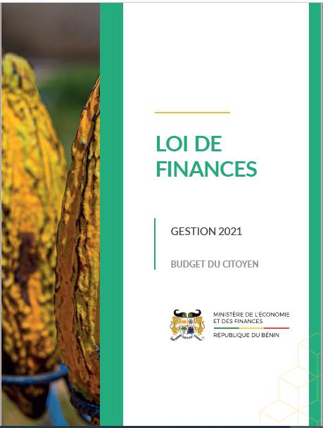 Budget citoyen de la loi de finances 2021