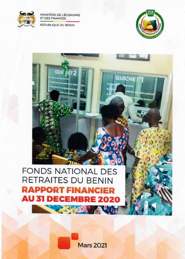 Rapport financier au 31 décembre 2020 du Fonds National des Retraites du Bénin